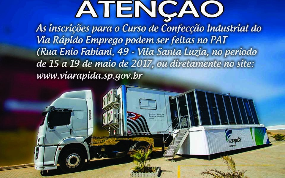 anuncio via rapida confecção industrialsite