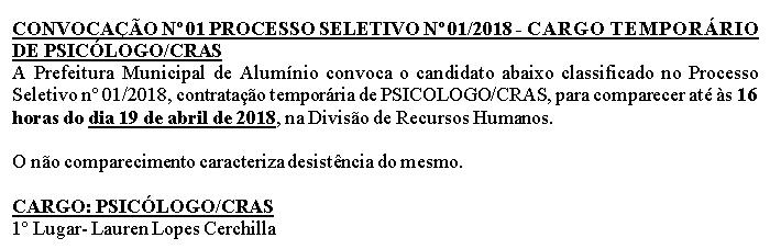 convocacaoCRAS2018