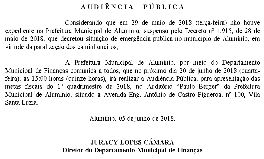 audiencia publica financas20062018