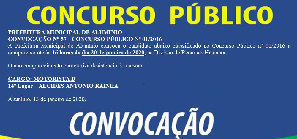 CONCURSOCONVOCACAO57