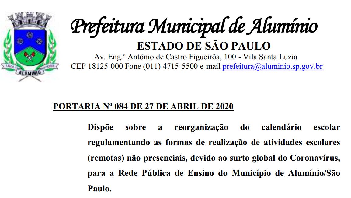 portaria842020
