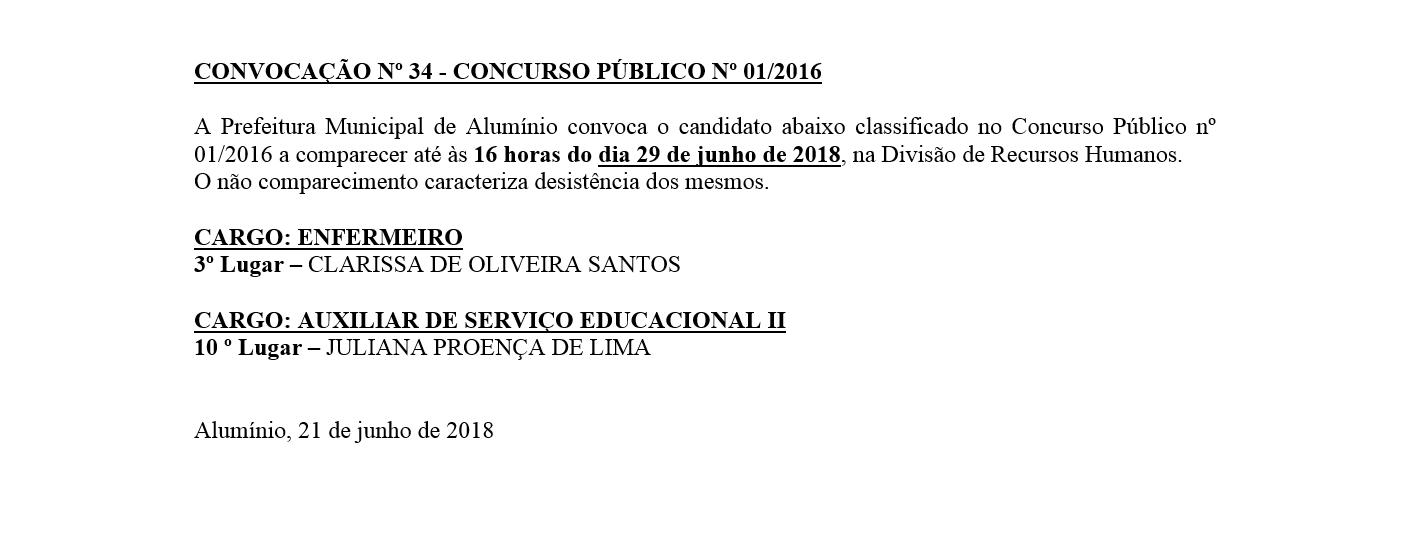 convocacao34012016