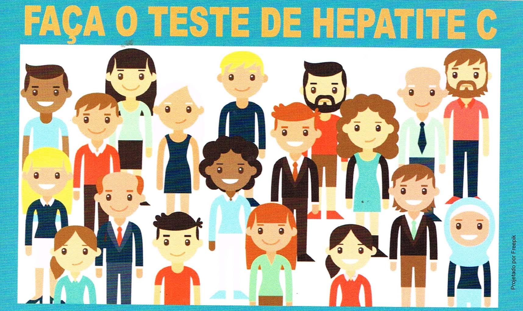 informativo teste hepatite