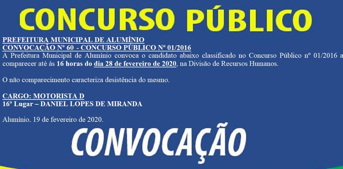 CONCURSOCONVOCACAO60