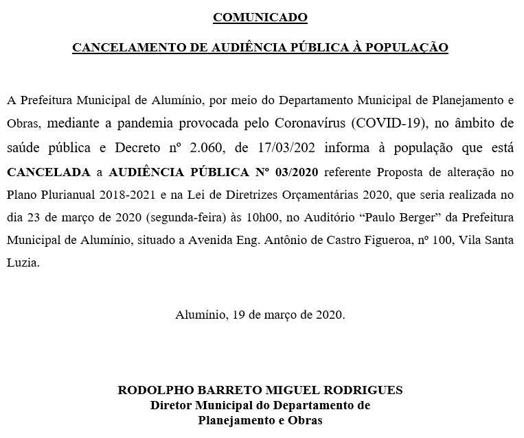 comunicado20032020