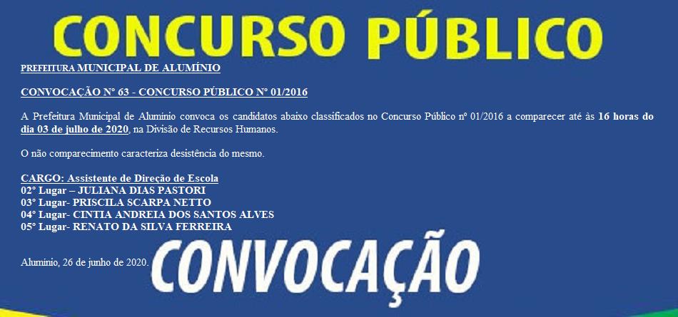 CONCURSOCONVOCACAO63