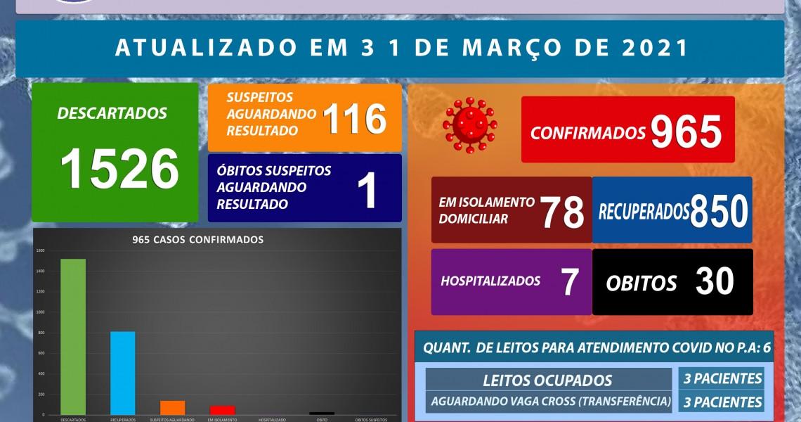31 DE MARÇO